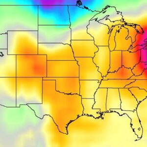 Heatwave across the USA